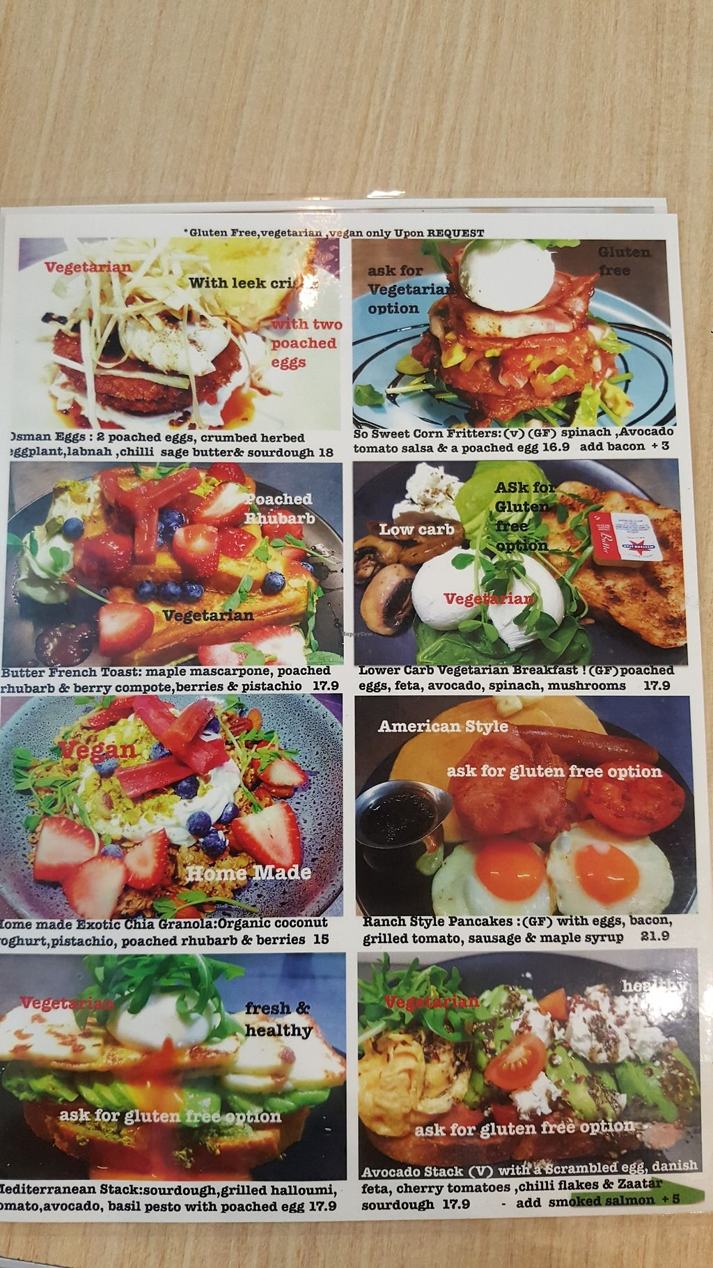 """Photo of Whispers Cafe  by <a href=""""/members/profile/roothee"""">roothee</a> <br/>Picture menu. More options on the normal menu <br/> December 14, 2017  - <a href='/contact/abuse/image/107209/335636'>Report</a>"""