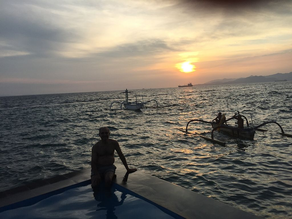 "Photo of Aquaria Eco Resort  by <a href=""/members/profile/Margaret.Hanna10"">Margaret.Hanna10</a> <br/>Sunset swim before dinner <br/> December 15, 2017  - <a href='/contact/abuse/image/107212/335660'>Report</a>"