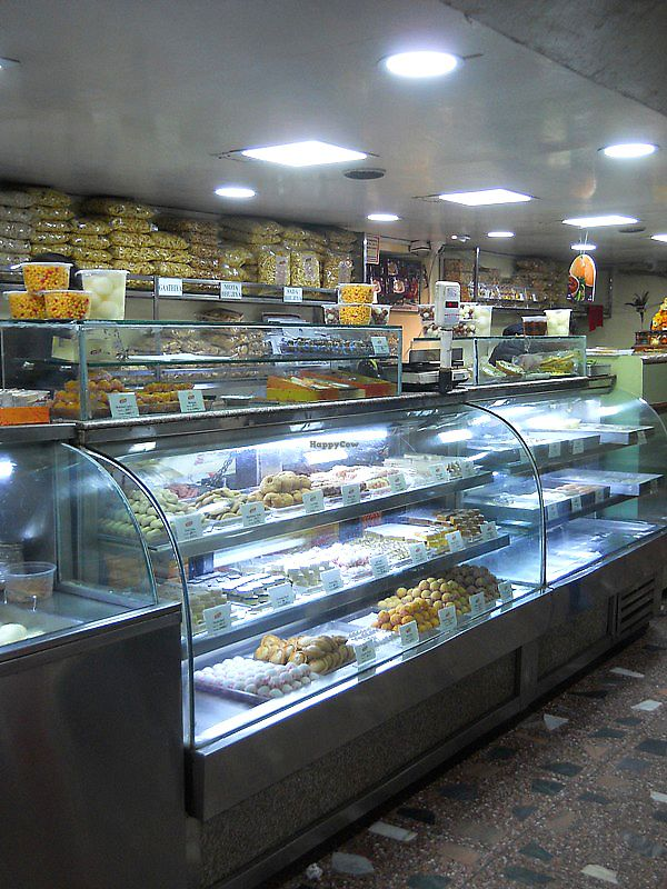 """Photo of Gautam Sweets - Tip Top  by <a href=""""/members/profile/Masala-Dosa"""">Masala-Dosa</a> <br/>sweets and cash counter (on the right, pay here first) <br/> December 17, 2017  - <a href='/contact/abuse/image/107231/336396'>Report</a>"""