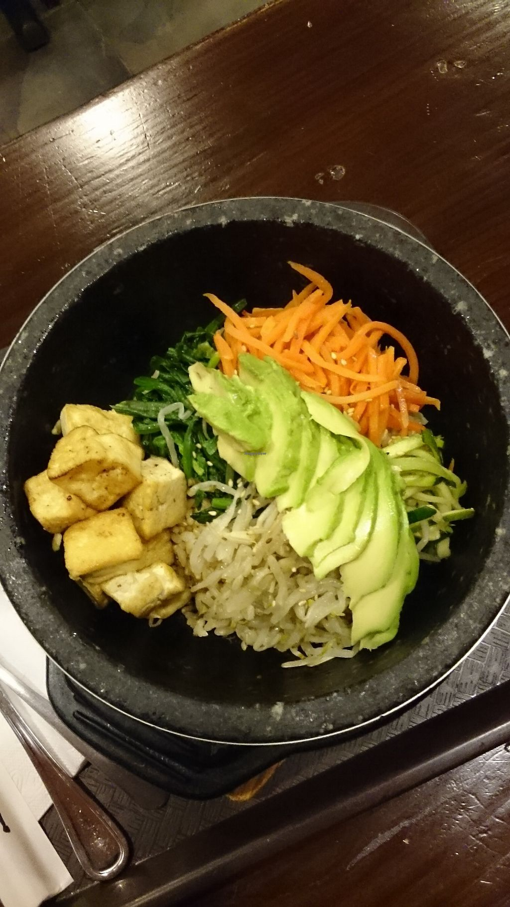 "Photo of Tampopo - 44th St  by <a href=""/members/profile/ZoraySpielvogel"">ZoraySpielvogel</a> <br/>Tofu Bibimbob.  <br/> January 30, 2018  - <a href='/contact/abuse/image/107243/352938'>Report</a>"