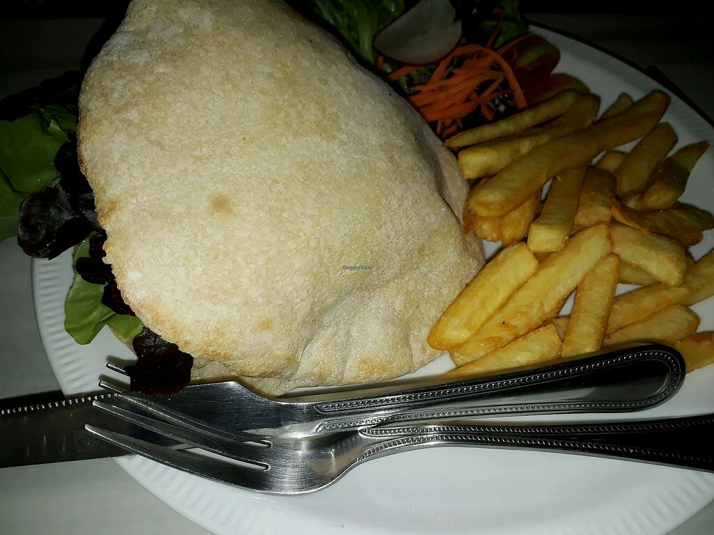 """Photo of The Falafelist  by <a href=""""/members/profile/LilacHippy"""">LilacHippy</a> <br/>Falafel and pitta platter <br/> December 16, 2017  - <a href='/contact/abuse/image/107269/335982'>Report</a>"""