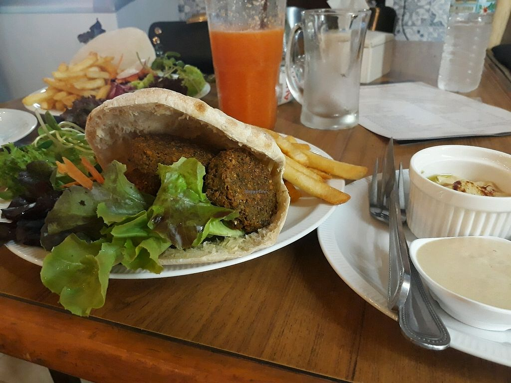 """Photo of The Falafelist  by <a href=""""/members/profile/LilacHippy"""">LilacHippy</a> <br/>Falafel  <br/> March 24, 2018  - <a href='/contact/abuse/image/107269/375563'>Report</a>"""