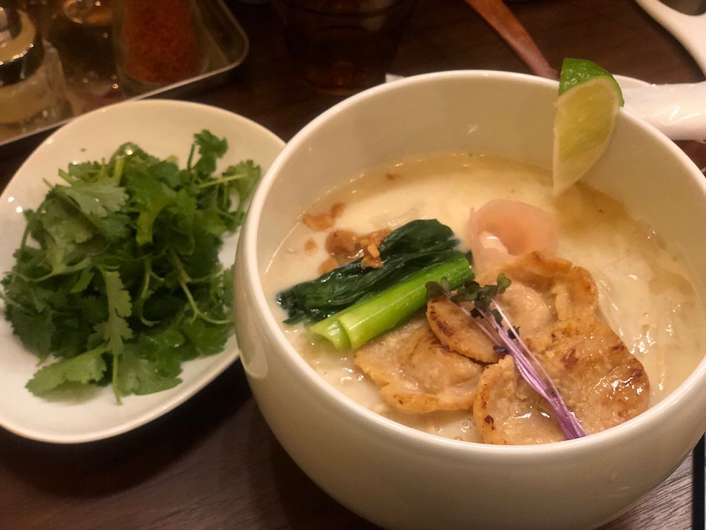 "Photo of Noodle Stand  by <a href=""/members/profile/Tomo%20Okabe"">Tomo Okabe</a> <br/>Coconut miso vegan ramen <br/> December 28, 2017  - <a href='/contact/abuse/image/107270/339970'>Report</a>"
