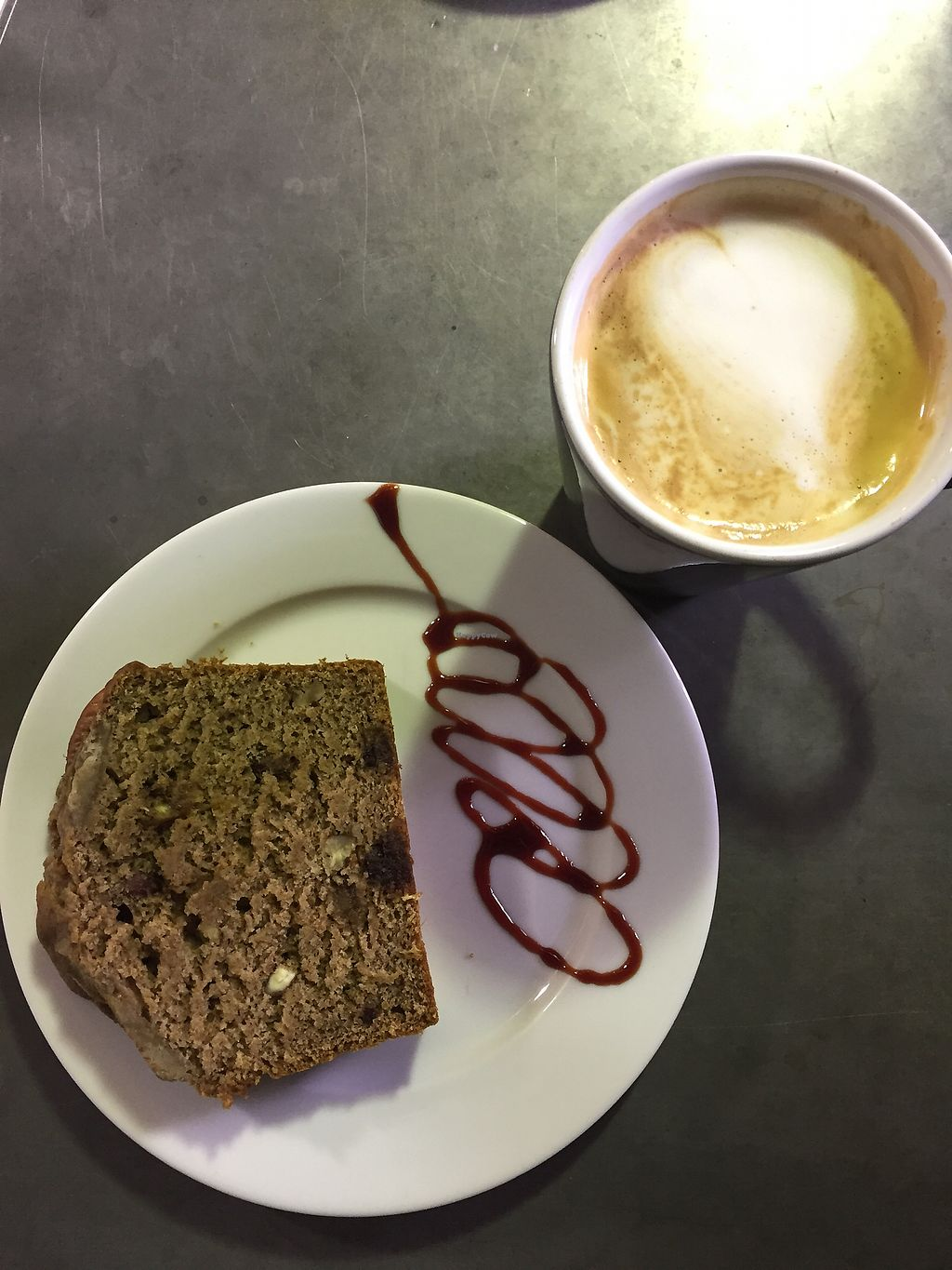 """Photo of West Six Garden Cafe  by <a href=""""/members/profile/chiarabeebe"""">chiarabeebe</a> <br/>Vegan (and sugar free) banana bread <br/> February 4, 2018  - <a href='/contact/abuse/image/107282/354747'>Report</a>"""