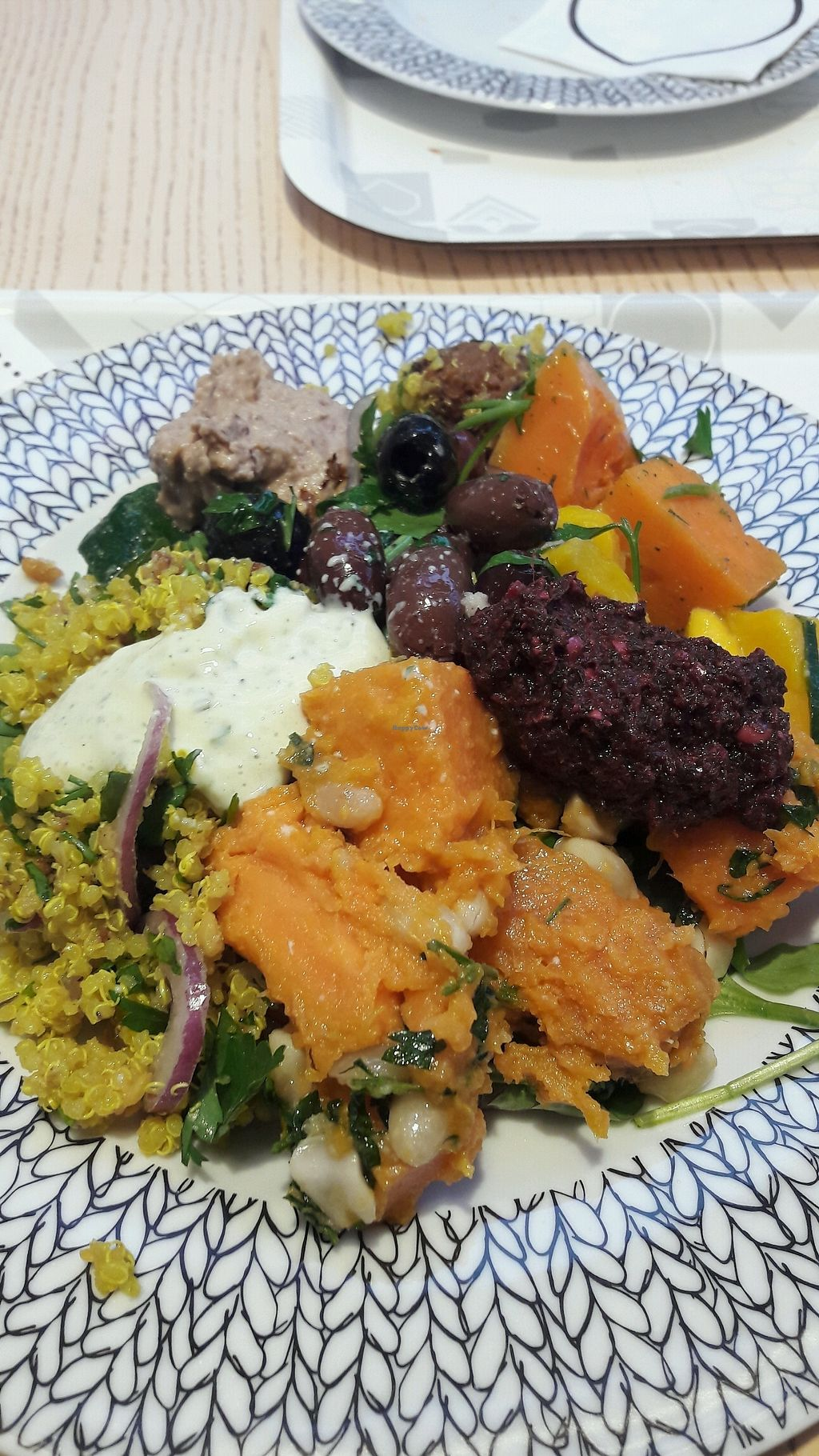 "Photo of Paulig Kulma  by <a href=""/members/profile/reissausta%20ja%20ruokaa"">reissausta ja ruokaa</a> <br/>Food from salad buffet <br/> December 22, 2017  - <a href='/contact/abuse/image/107284/338052'>Report</a>"