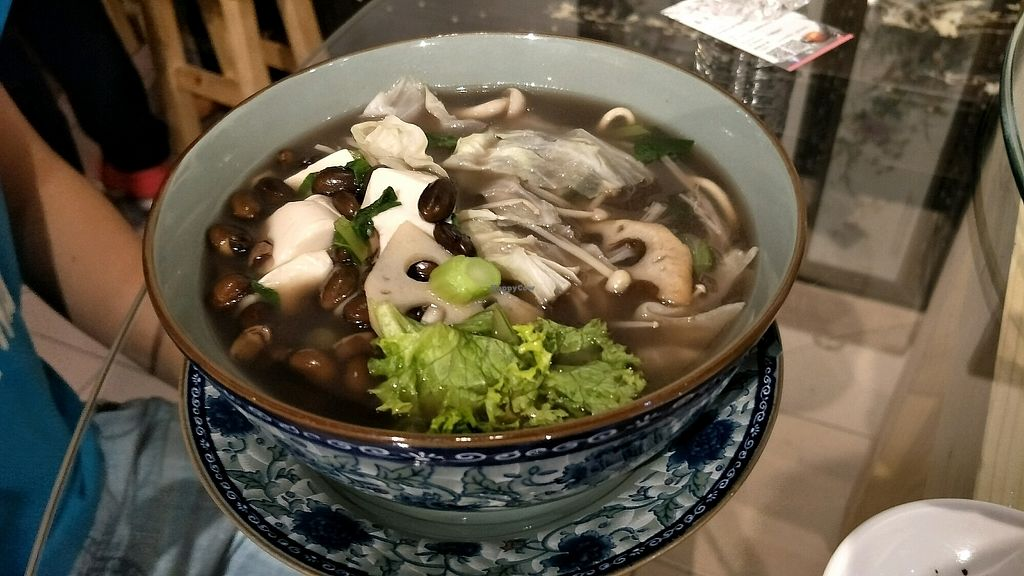 """Photo of Chun Tian Tea House  by <a href=""""/members/profile/alicel"""">alicel</a> <br/>black bean soup noodles <br/> December 16, 2017  - <a href='/contact/abuse/image/107297/336158'>Report</a>"""