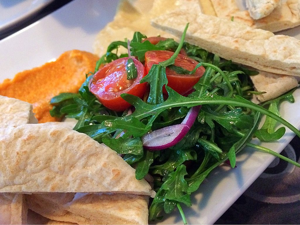 """Photo of Eat Street  by <a href=""""/members/profile/CiaraSlevin"""">CiaraSlevin</a> <br/>Hummus, salad & breads <br/> March 7, 2018  - <a href='/contact/abuse/image/107310/367885'>Report</a>"""