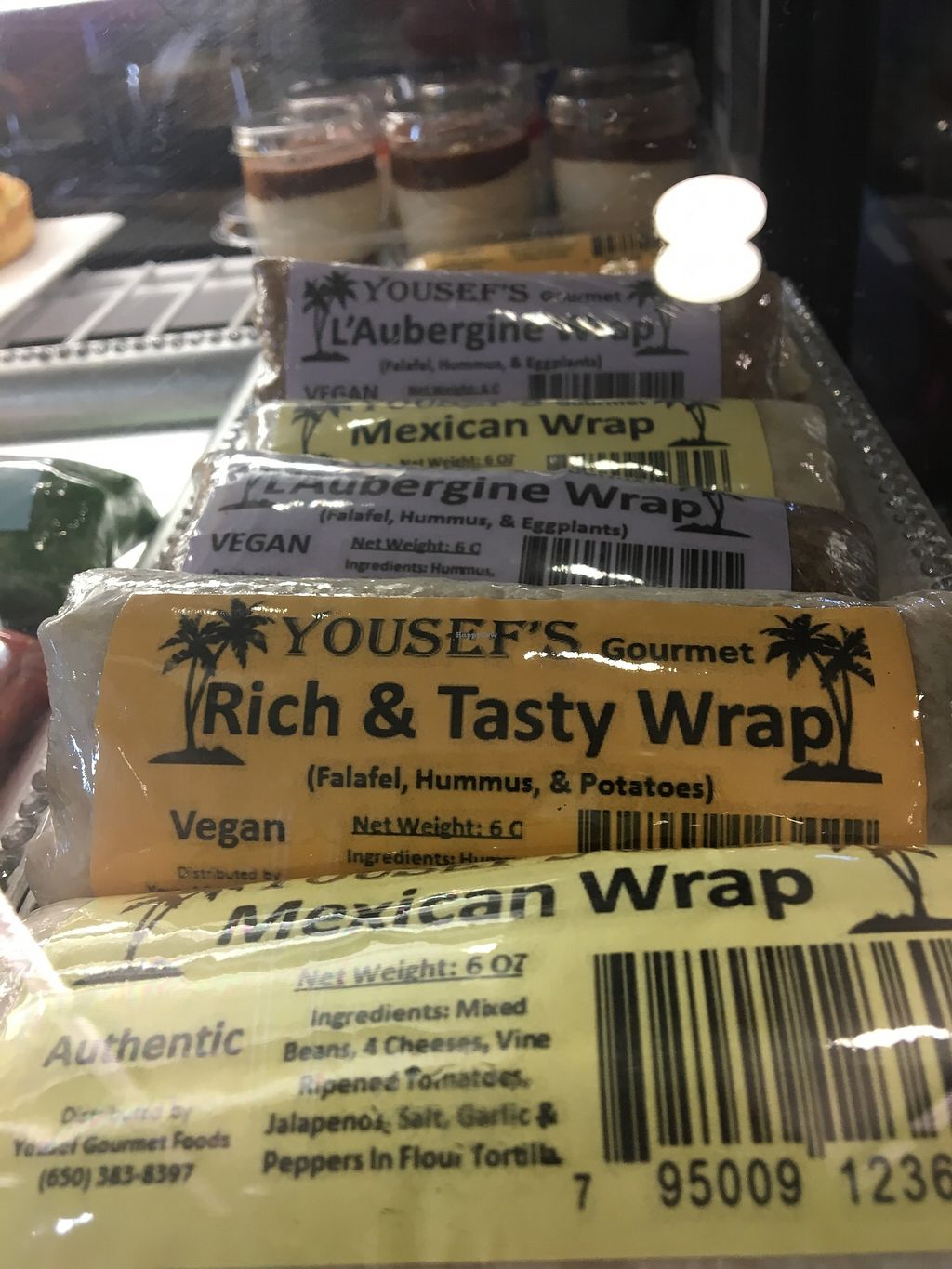 """Photo of 3 Bees Cafe  by <a href=""""/members/profile/Clean%26Green"""">Clean&Green</a> <br/>Variety of vegan wraps <br/> December 15, 2017  - <a href='/contact/abuse/image/107313/335900'>Report</a>"""