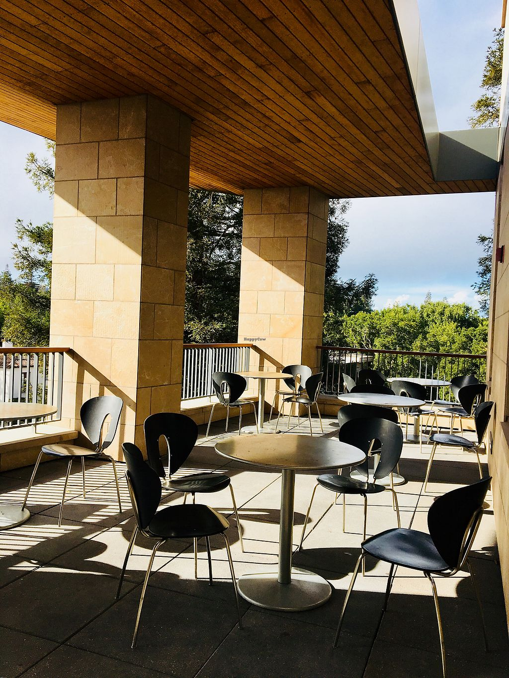 """Photo of 3 Bees Cafe  by <a href=""""/members/profile/Clean%26Green"""">Clean&Green</a> <br/>Terrace seating  <br/> January 19, 2018  - <a href='/contact/abuse/image/107313/348596'>Report</a>"""