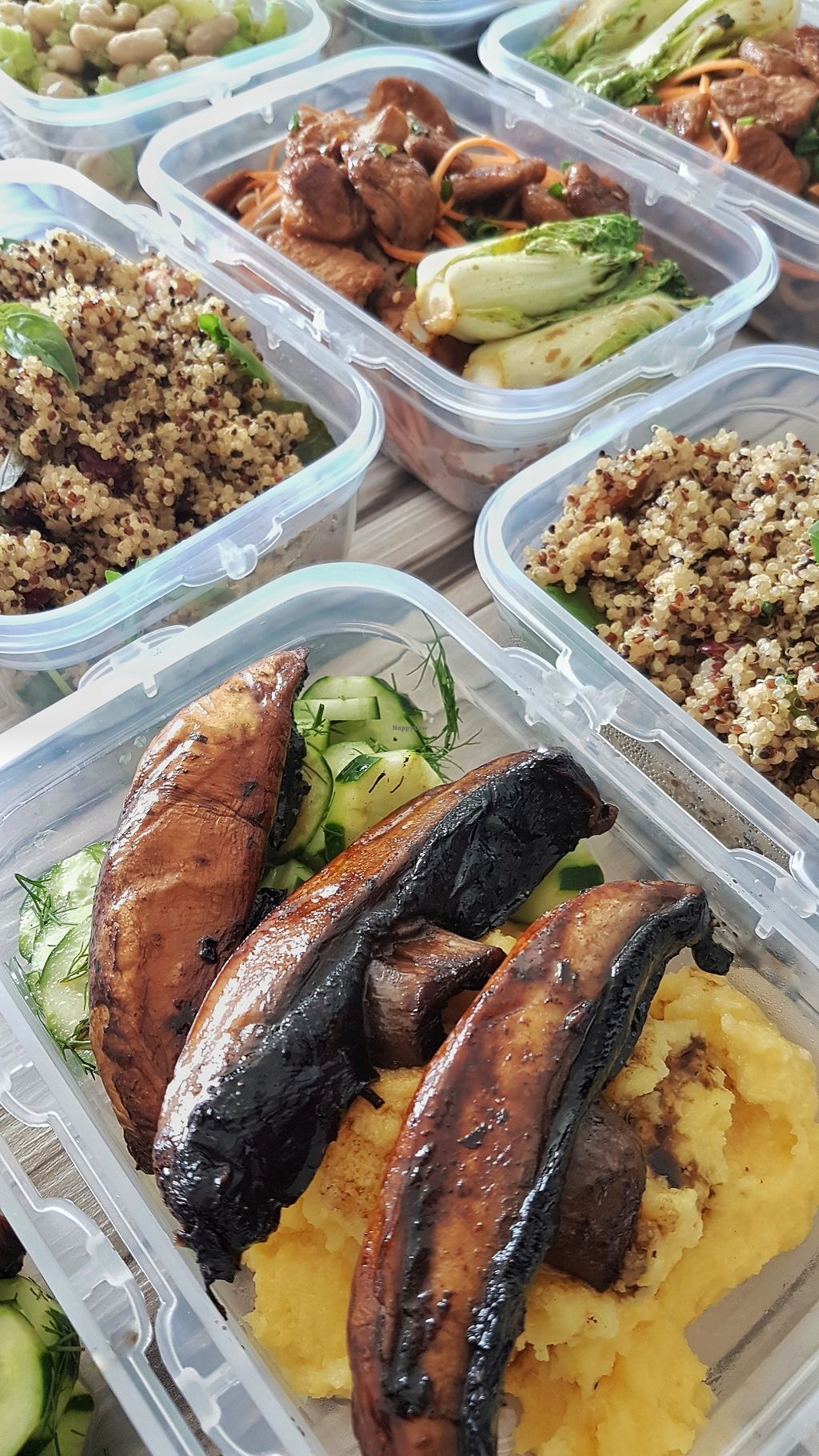 """Photo of Vegan Crush Food Delivery  by <a href=""""/members/profile/VeganCrush"""">VeganCrush</a> <br/>Colorful and healthy meals freshly prepared and delivered to you every Monday.  <br/> December 17, 2017  - <a href='/contact/abuse/image/107331/336445'>Report</a>"""