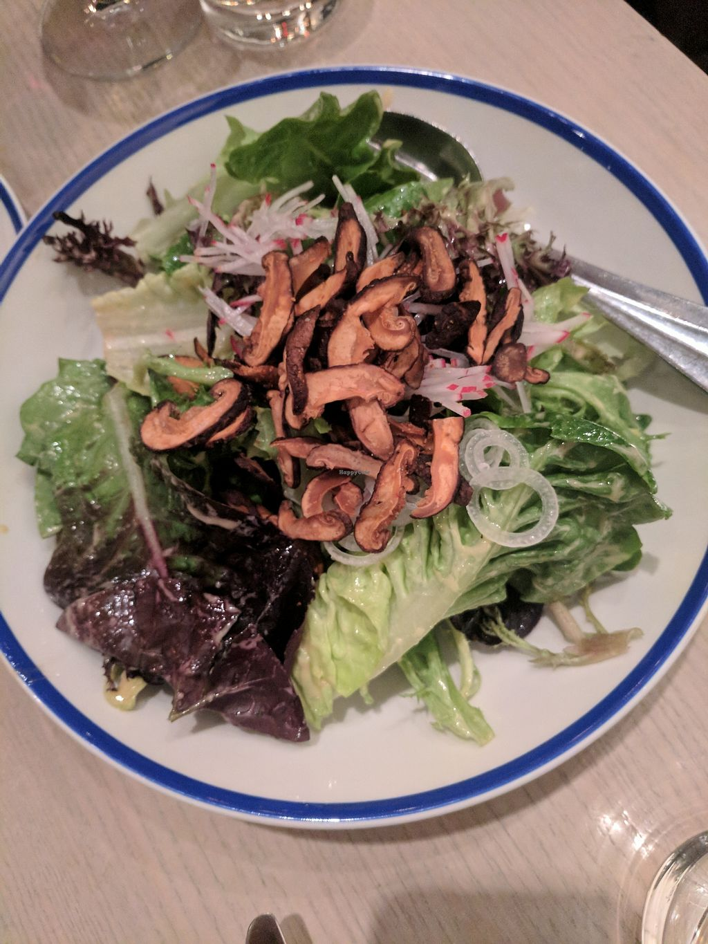 """Photo of Ten Foot Henry  by <a href=""""/members/profile/lmcc"""">lmcc</a> <br/>Henry Salad with crispy shiitake mushrooms <br/> March 4, 2018  - <a href='/contact/abuse/image/107338/366815'>Report</a>"""