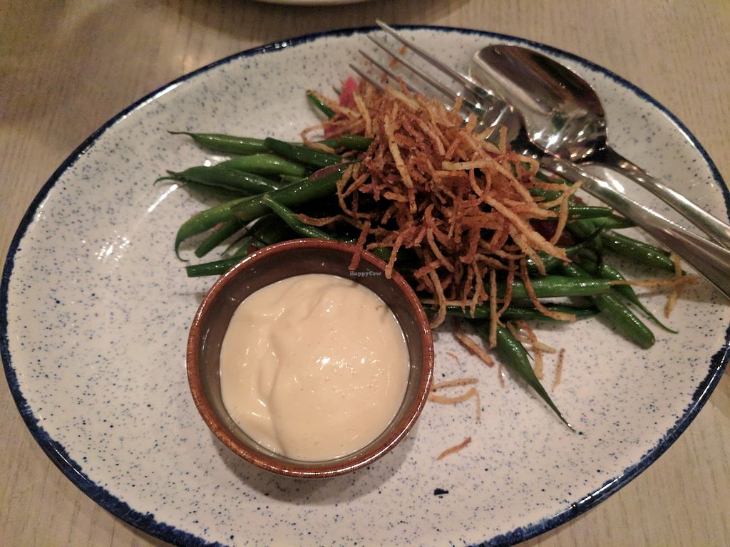 """Photo of Ten Foot Henry  by <a href=""""/members/profile/lmcc"""">lmcc</a> <br/>Green beans with fried onions and aioli <br/> March 4, 2018  - <a href='/contact/abuse/image/107338/366816'>Report</a>"""