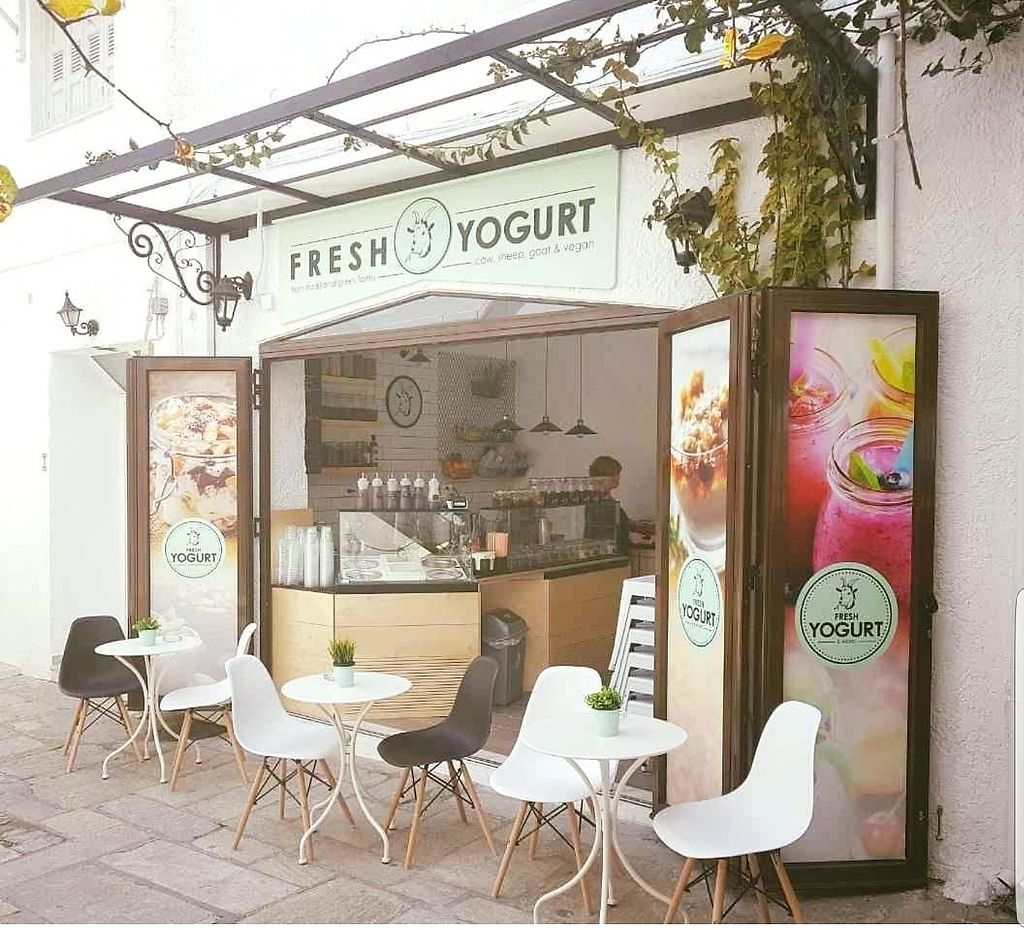 """Photo of Fresh Yogurt & More  by <a href=""""/members/profile/EvageliaTsampala"""">EvageliaTsampala</a> <br/>Fresh Yogurt & More isn't just for usual eaters. Vegans rejoice! Offering yogurt made from coconut milk, coupled with grains, fruits and superfoods & cappuccino with vegan milk, we promise to offer you a huge range of combinations to satisfy your Imagination! <br/> January 3, 2018  - <a href='/contact/abuse/image/107353/342735'>Report</a>"""
