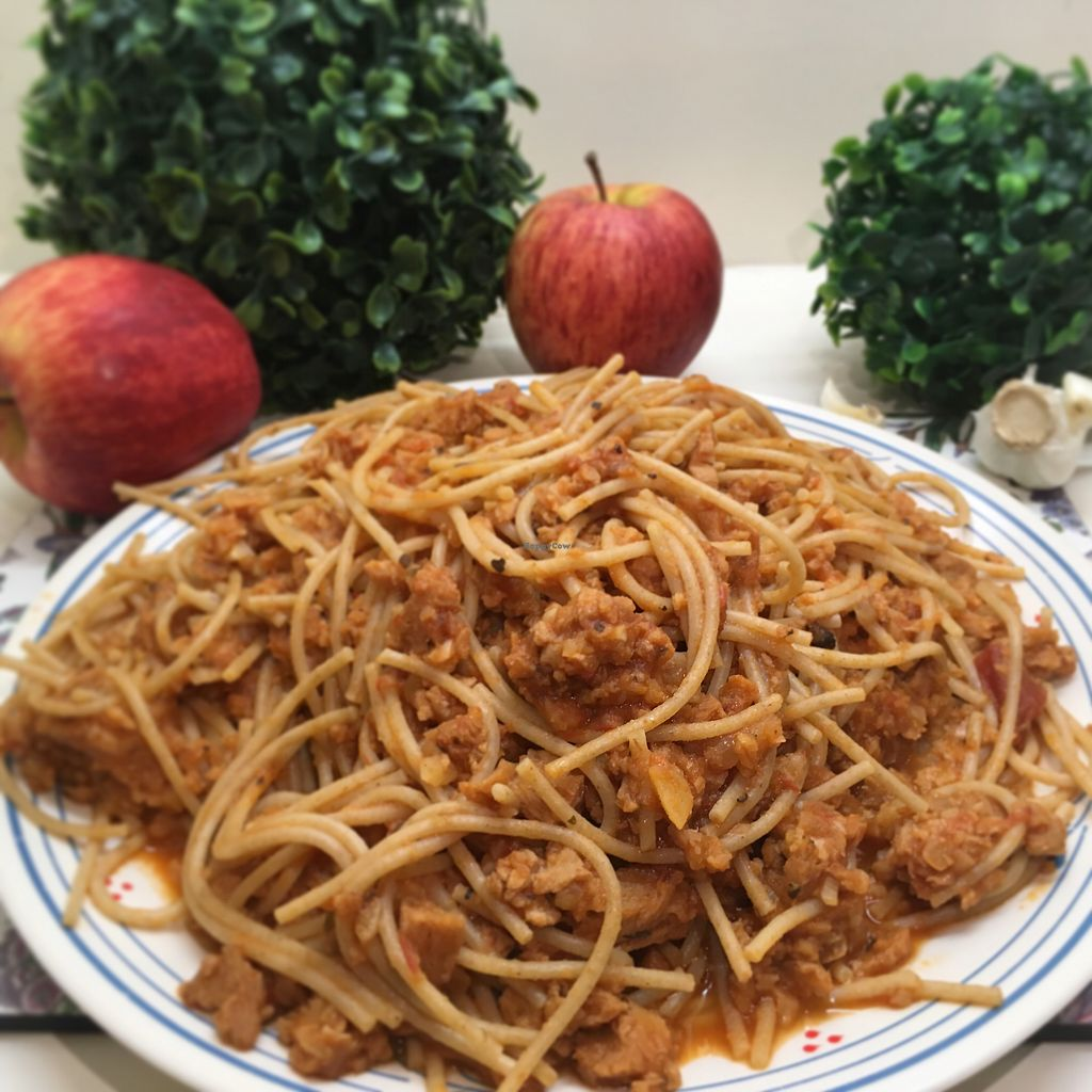 "Photo of Lush  by <a href=""/members/profile/LionelSanchez"">LionelSanchez</a> <br/>Veggie Meat Bolognese <br/> December 18, 2017  - <a href='/contact/abuse/image/107354/336792'>Report</a>"