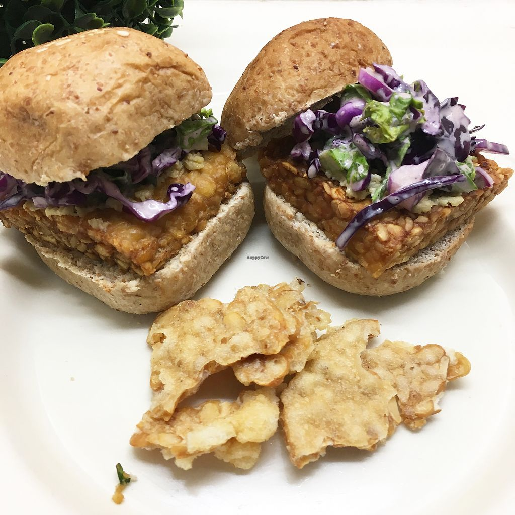 "Photo of Lush  by <a href=""/members/profile/LionelSanchez"">LionelSanchez</a> <br/>Tempeh Burger <br/> December 29, 2017  - <a href='/contact/abuse/image/107354/340528'>Report</a>"
