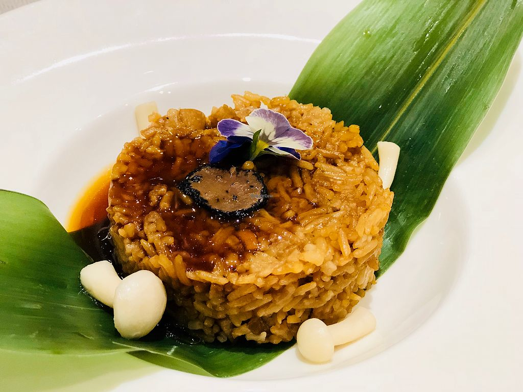 """Photo of Elemen - HarbourFront   by <a href=""""/members/profile/CherylQuincy"""">CherylQuincy</a> <br/>Steamed Truffle Rice with Braised Sauce <br/> January 20, 2018  - <a href='/contact/abuse/image/107366/348640'>Report</a>"""