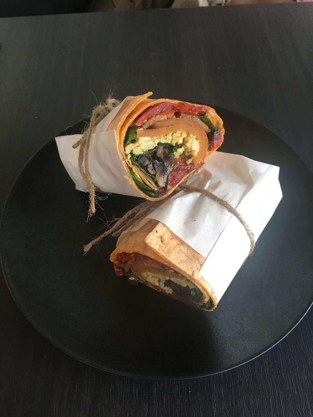"Photo of Raw Sugar Cafe  by <a href=""/members/profile/perkonius"">perkonius</a> <br/>Brekkie wrap <br/> December 18, 2017  - <a href='/contact/abuse/image/107404/337065'>Report</a>"