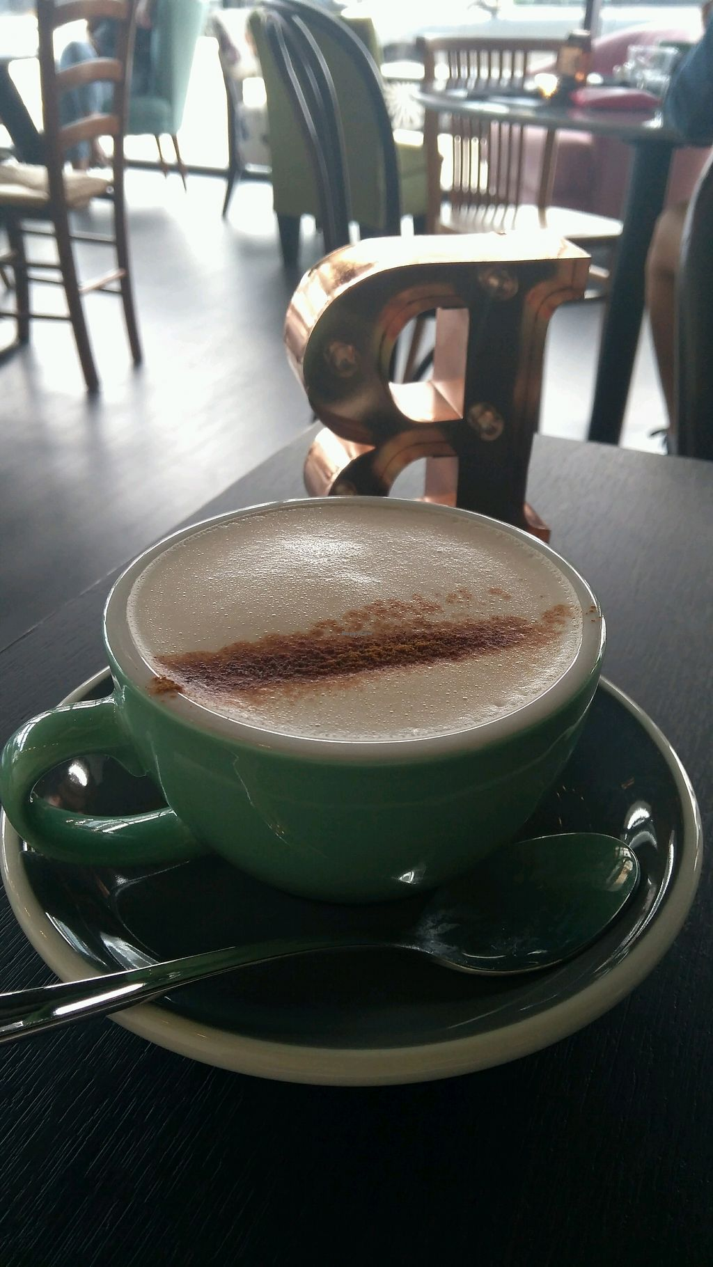"Photo of Raw Sugar Cafe  by <a href=""/members/profile/Pandini"">Pandini</a> <br/>chai latte on coconut milk <br/> February 3, 2018  - <a href='/contact/abuse/image/107404/354251'>Report</a>"