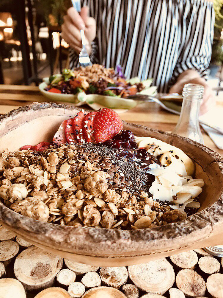 """Photo of Pure Vegan Heaven  by <a href=""""/members/profile/MotorbikesandCoffee"""">MotorbikesandCoffee</a> <br/>Delicious açai bowl <br/> January 23, 2018  - <a href='/contact/abuse/image/107419/350078'>Report</a>"""