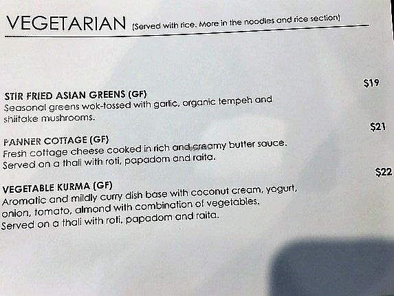 "Photo of Banana Leaf Malaysian Restaurant  by <a href=""/members/profile/Yolanda"">Yolanda</a> <br/>Banana Leaf veg menu page 2 <br/> December 21, 2017  - <a href='/contact/abuse/image/107427/337872'>Report</a>"
