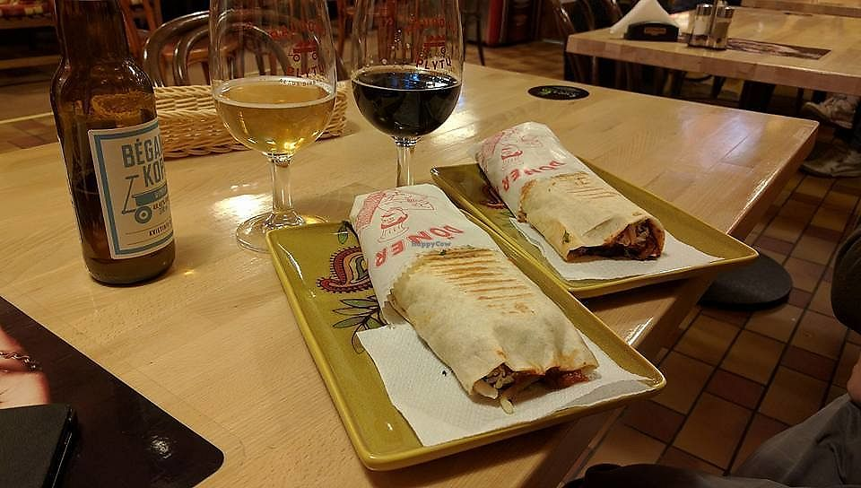 """Photo of Granatus  by <a href=""""/members/profile/RokasKoveckis"""">RokasKoveckis</a> <br/>vegan kebab <br/> December 26, 2017  - <a href='/contact/abuse/image/107431/339162'>Report</a>"""