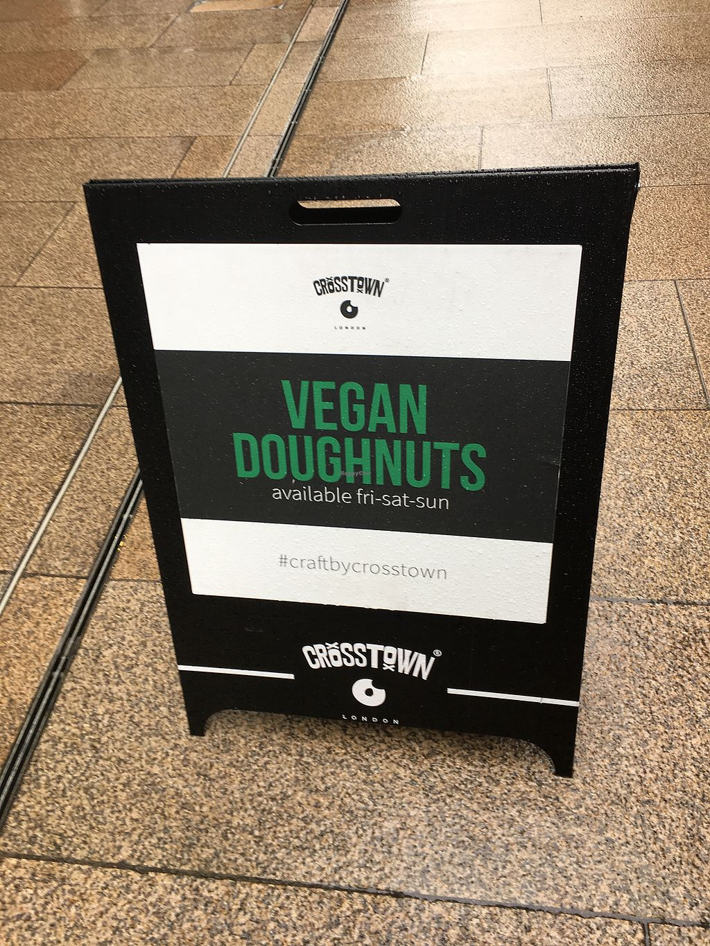 "Photo of Crosstown Doughnuts - Victoria  by <a href=""/members/profile/lysi"">lysi</a> <br/>Signage  <br/> February 3, 2018  - <a href='/contact/abuse/image/107442/354396'>Report</a>"