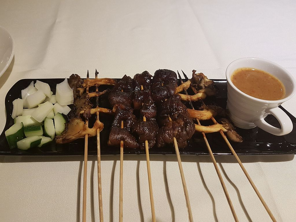 """Photo of Pondok Gurame  by <a href=""""/members/profile/LiQi"""">LiQi</a> <br/>Mushroom skewers <br/> December 18, 2017  - <a href='/contact/abuse/image/107449/336696'>Report</a>"""