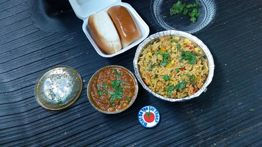 """Photo of Shiv Shakti Chat House  by <a href=""""/members/profile/WhatDoYouEatThen"""">WhatDoYouEatThen</a> <br/>I visited Shiv Shakti Chat House in Scranton, Pennsylvania on Sep 16, 2017 Very friendly people, good parking, and decent selection of both Vegetarian and Vegan options  https://www.facebook.com/pg/shivshaktichathouse/about/?ref=page_internal  It was very good, large portion and I look forward to returning to try more of their menu  Our pictures are here http://whatdoyoueatthen.com/shiv-shakti-chat-house-scranton-pa/  Looks like they have a restaurant (that was not open on a Tuesday Afternoon) and I ordered from the to-go counter <br/> December 17, 2017  - <a href='/contact/abuse/image/107474/336657'>Report</a>"""
