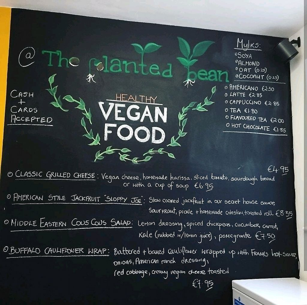 """Photo of The Planted Bean  by <a href=""""/members/profile/fooltothink"""">fooltothink</a> <br/>Sample of the Menu (valid from 28/12/17 to 31/12/17) <br/> December 28, 2017  - <a href='/contact/abuse/image/107487/340215'>Report</a>"""