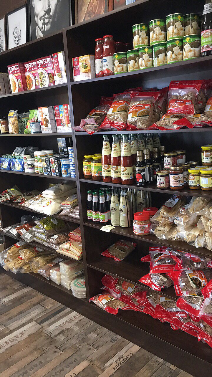 """Photo of Great Nature Vegetarian Snacks and Grocery  by <a href=""""/members/profile/Jeanie"""">Jeanie</a> <br/>Loads of Vegan Grocery  <br/> December 19, 2017  - <a href='/contact/abuse/image/107506/337119'>Report</a>"""