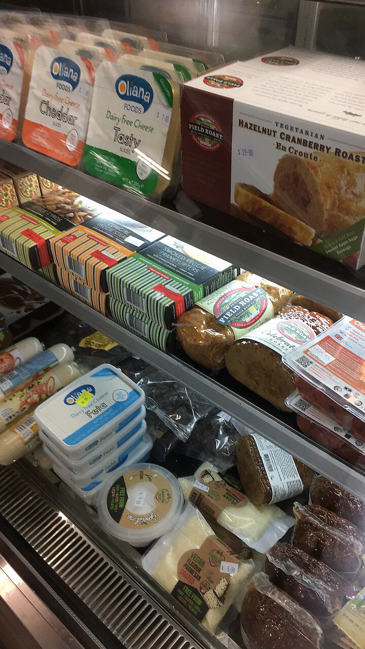 """Photo of Great Nature Vegetarian Snacks and Grocery  by <a href=""""/members/profile/Jeanie"""">Jeanie</a> <br/>Many vegan groceries  <br/> December 19, 2017  - <a href='/contact/abuse/image/107506/337120'>Report</a>"""