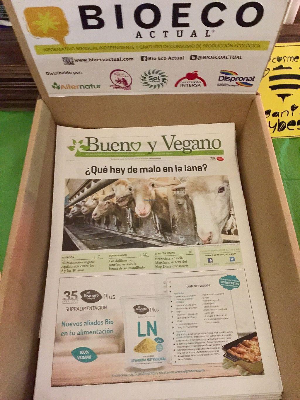 "Photo of Tente En Pie  by <a href=""/members/profile/Anne%20VDH"">Anne VDH</a> <br/>Vegan promo at Tente En Pie <br/> December 19, 2017  - <a href='/contact/abuse/image/107519/337252'>Report</a>"