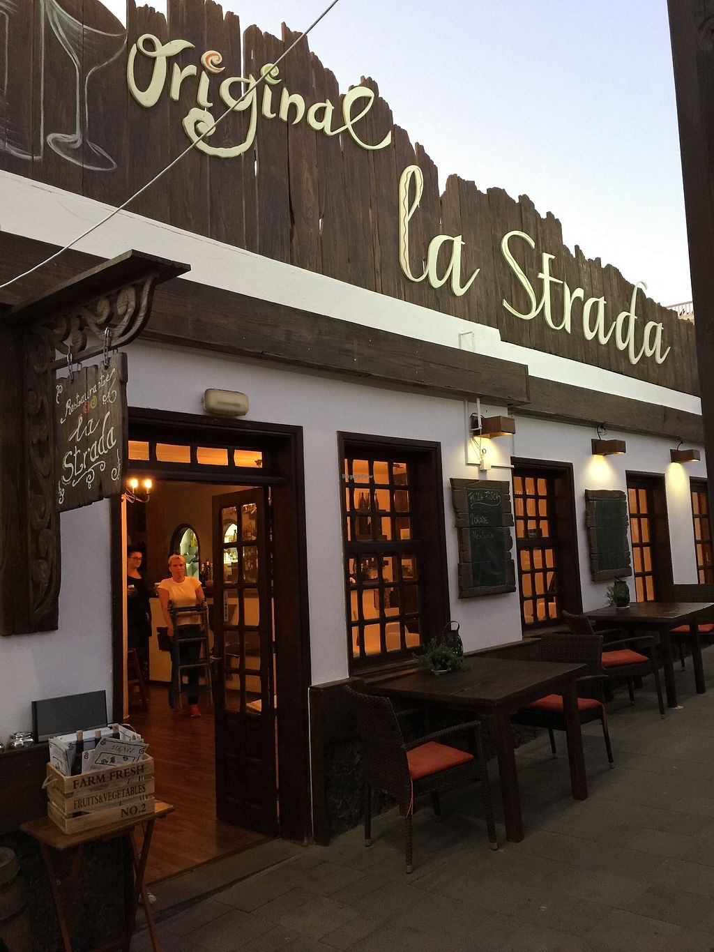 "Photo of La Strada  by <a href=""/members/profile/Anne%20VDH"">Anne VDH</a> <br/>Restaurant La Strada on the harbor of Morro Del Jable <br/> December 24, 2017  - <a href='/contact/abuse/image/107521/338663'>Report</a>"
