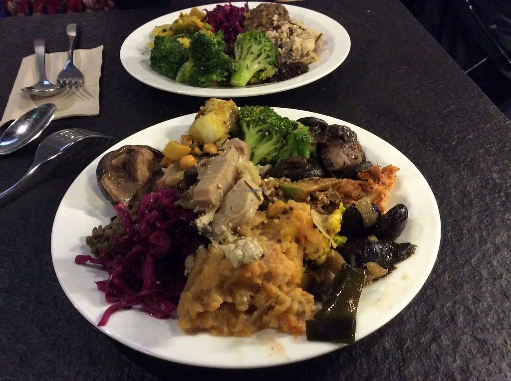 """Photo of Vantra Loungevity   by <a href=""""/members/profile/jon%20active"""">jon active</a> <br/>A £12.50 plate of dazzling tastes  <br/> February 25, 2018  - <a href='/contact/abuse/image/107557/363578'>Report</a>"""