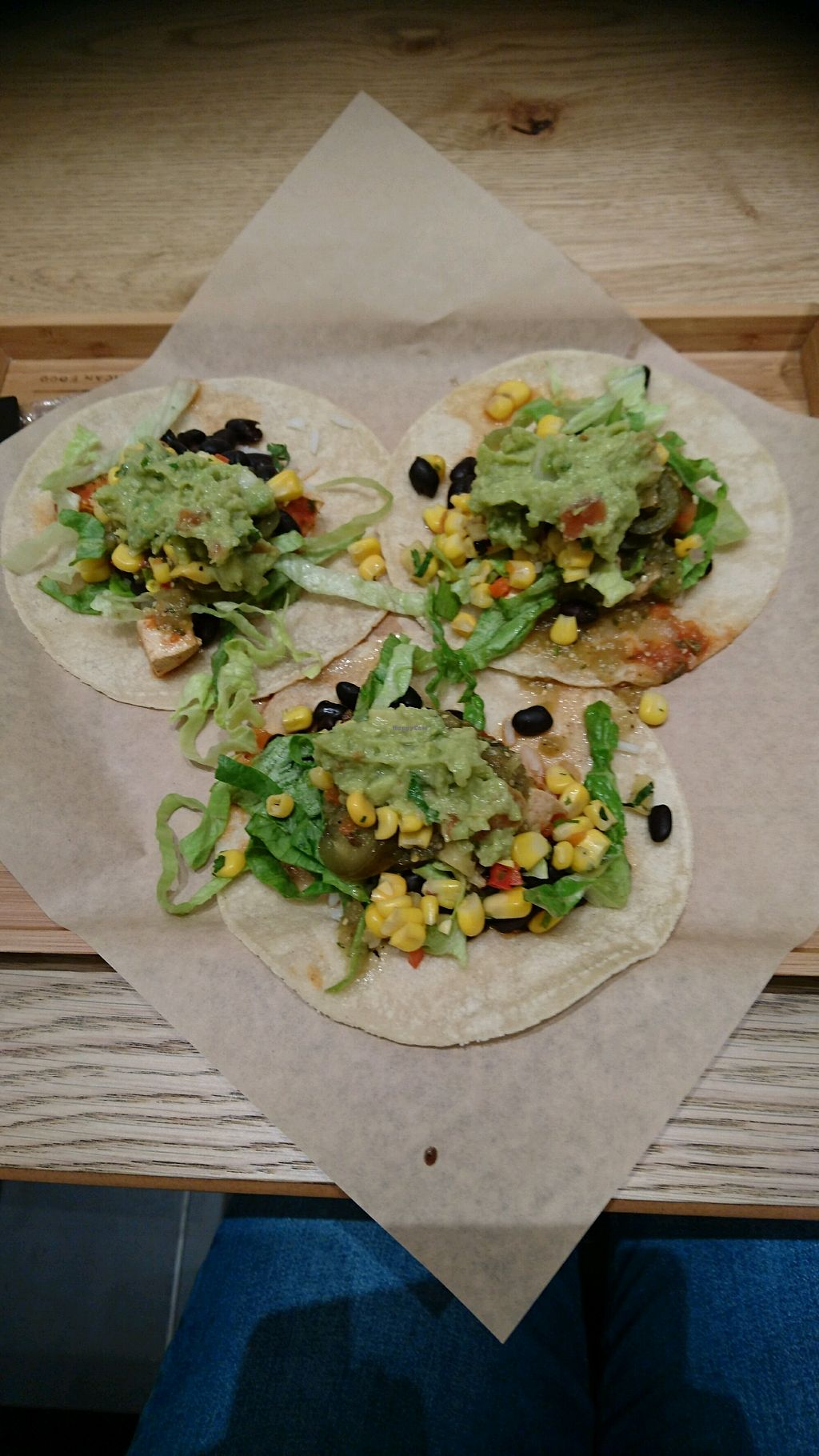 """Photo of Tacuba  by <a href=""""/members/profile/NatalieOughton"""">NatalieOughton</a> <br/>tofu sofritas tacos with guacamole <br/> February 17, 2018  - <a href='/contact/abuse/image/107574/360219'>Report</a>"""