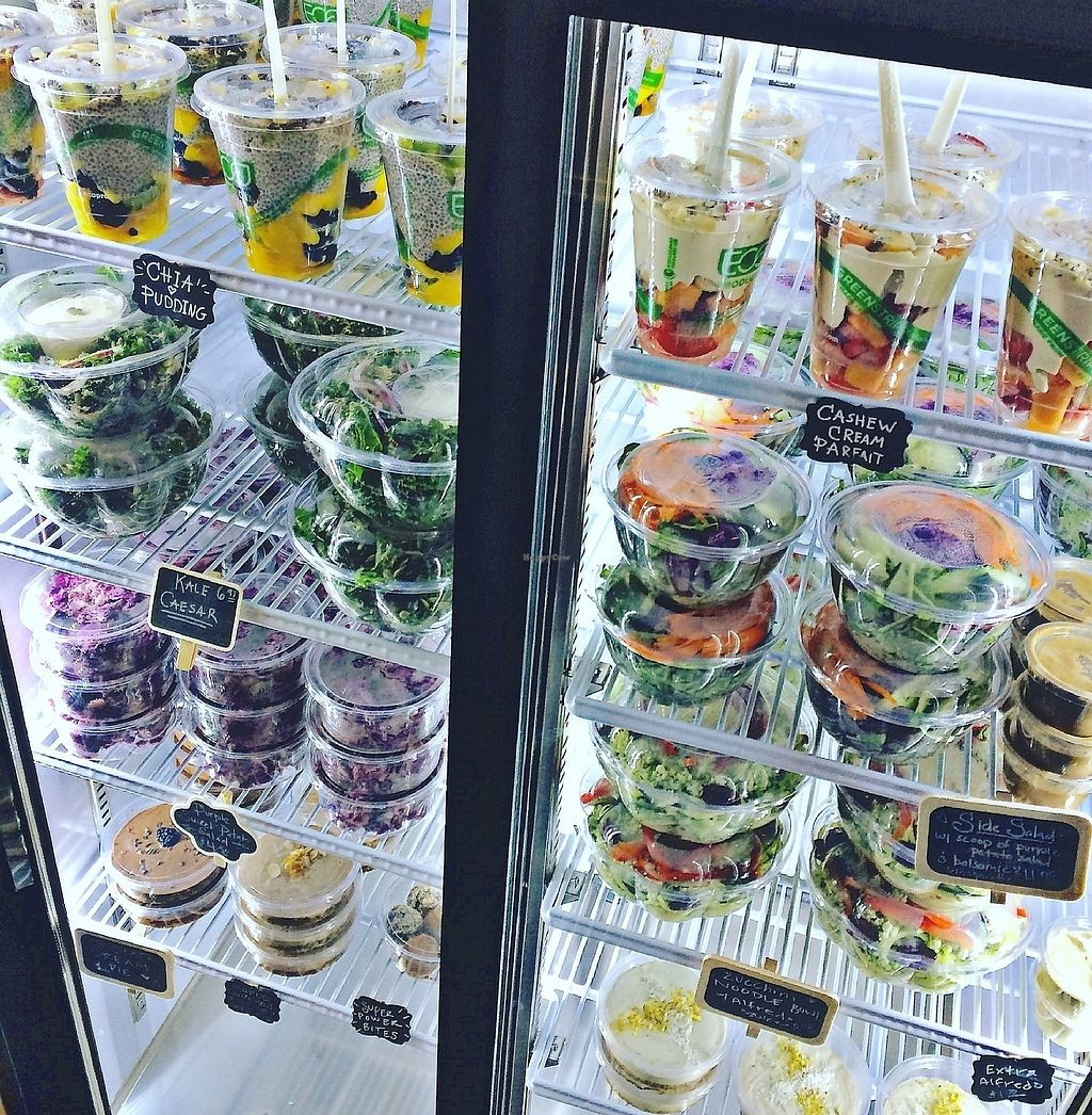 """Photo of Live Life Juice Co  by <a href=""""/members/profile/autumn2elevens"""">autumn2elevens</a> <br/>This business only uses 100% plant based, biodegradable products for all of the packaging. They also reuse the glass bottles.  <br/> December 20, 2017  - <a href='/contact/abuse/image/107575/337354'>Report</a>"""