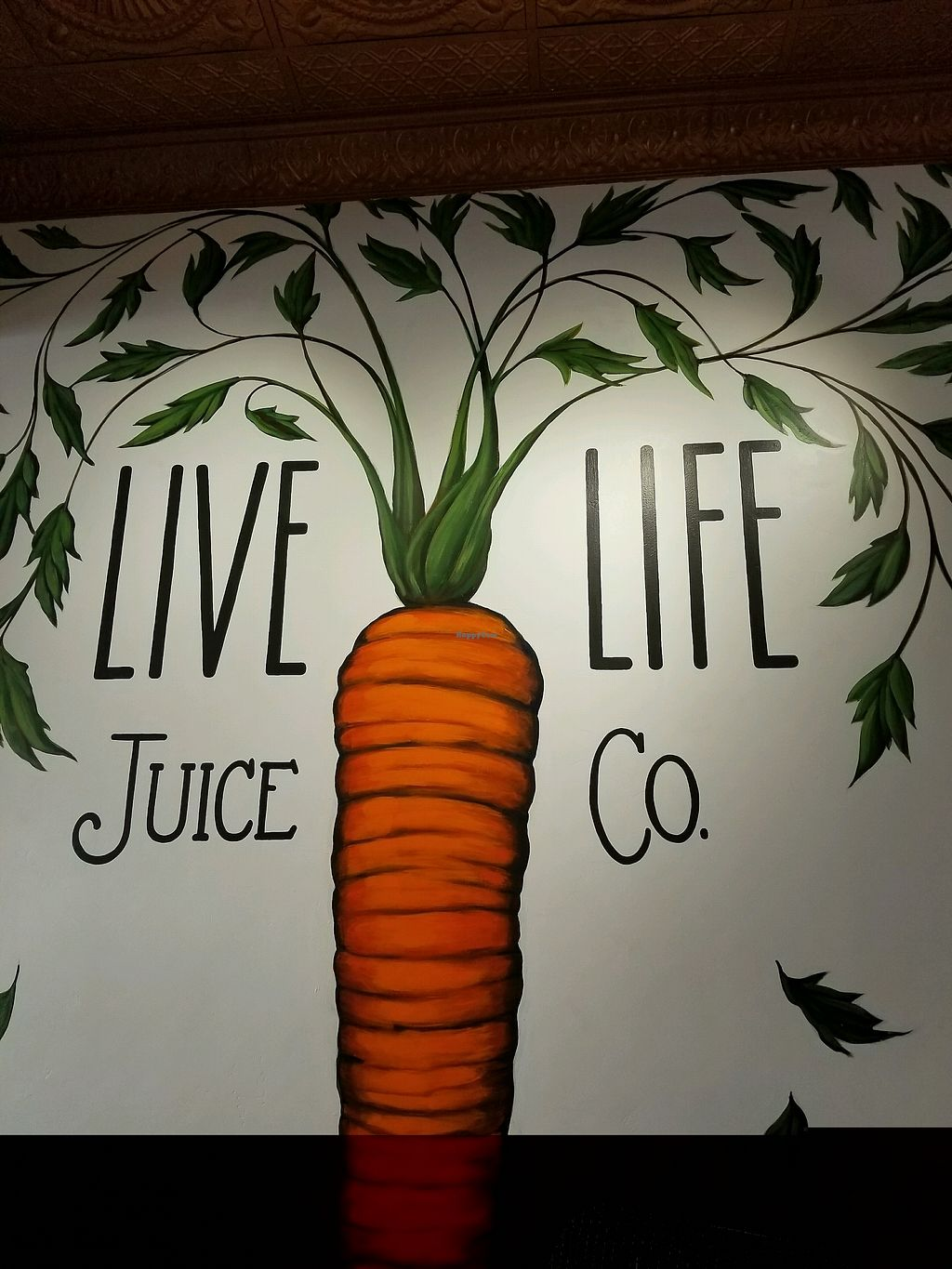 """Photo of Live Life Juice Co  by <a href=""""/members/profile/Calimimi"""">Calimimi</a> <br/>wall art <br/> February 1, 2018  - <a href='/contact/abuse/image/107575/353749'>Report</a>"""