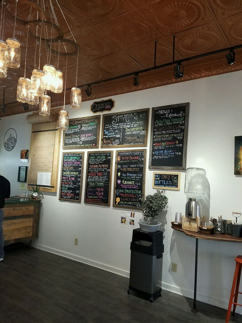 """Photo of Live Life Juice Co  by <a href=""""/members/profile/Calimimi"""">Calimimi</a> <br/>juice menu <br/> February 1, 2018  - <a href='/contact/abuse/image/107575/353750'>Report</a>"""