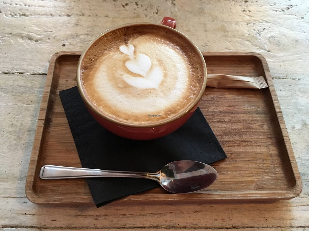 """Photo of Love Thy Neighbour  by <a href=""""/members/profile/avocado_jess"""">avocado_jess</a> <br/>Flat white <br/> March 30, 2018  - <a href='/contact/abuse/image/107577/378163'>Report</a>"""