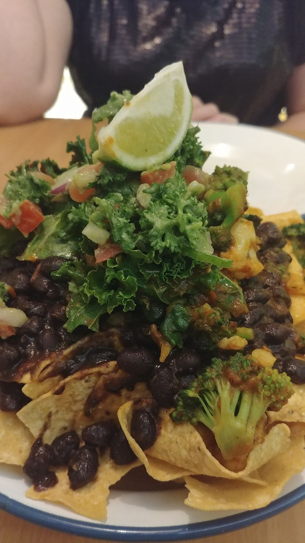 """Photo of Fiery Deli  by <a href=""""/members/profile/karlaess"""">karlaess</a> <br/>Vegan nachos <br/> January 23, 2018  - <a href='/contact/abuse/image/107587/350029'>Report</a>"""