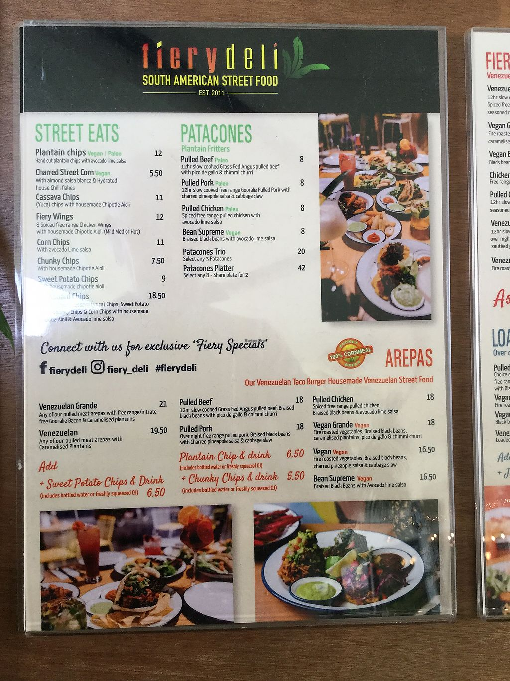 """Photo of Fiery Deli  by <a href=""""/members/profile/Mike%20Munsie"""">Mike Munsie</a> <br/>menu 1 <br/> March 19, 2018  - <a href='/contact/abuse/image/107587/372759'>Report</a>"""