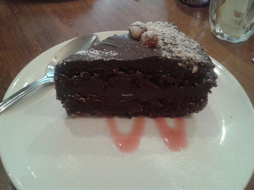 "Photo of Henderson's Restaurant  by <a href=""/members/profile/jennyc32"">jennyc32</a> <br/>Choco-nut cake (vegan) <br/> April 19, 2015  - <a href='/contact/abuse/image/1075/99634'>Report</a>"