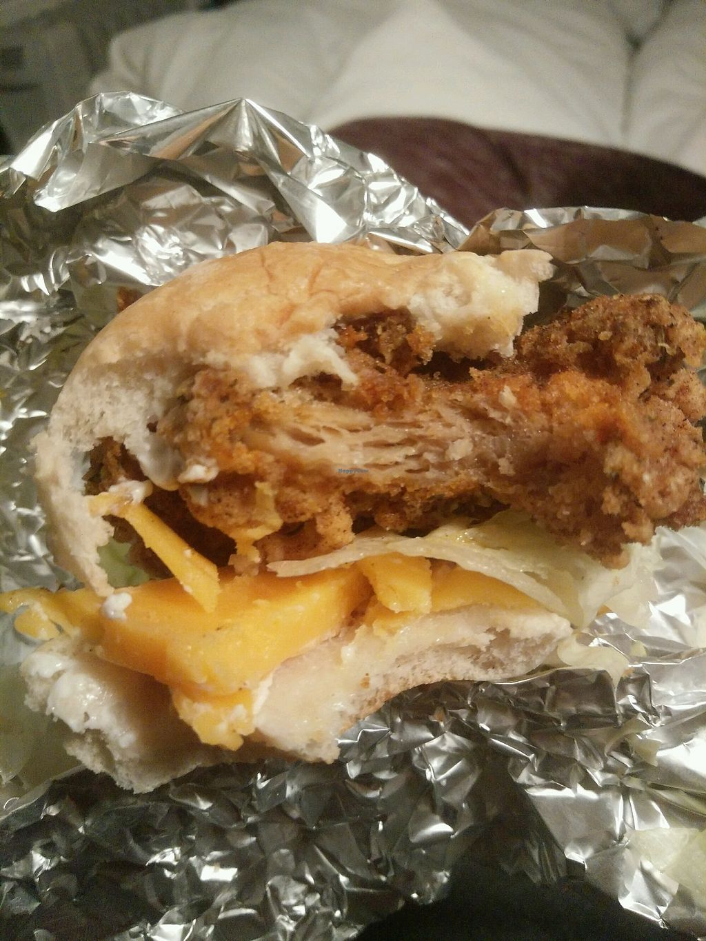 """Photo of Junk it Up - Vegan Fast Food  by <a href=""""/members/profile/DominikaA"""">DominikaA</a> <br/>tasty cheese sub <br/> January 3, 2018  - <a href='/contact/abuse/image/107610/342620'>Report</a>"""