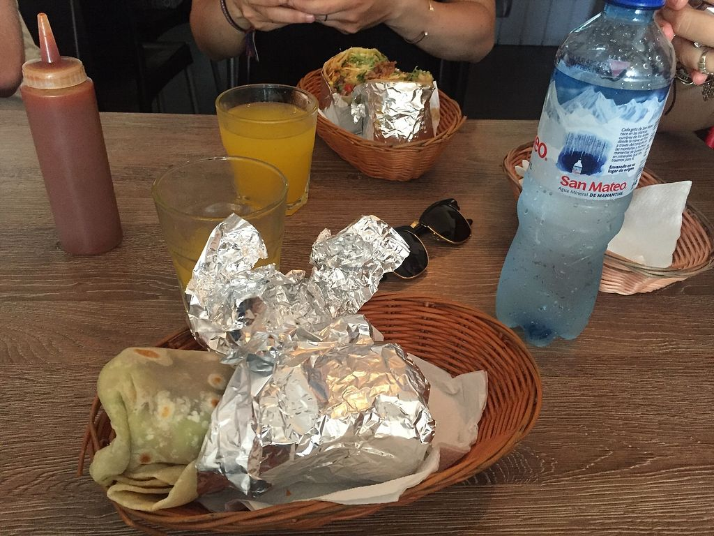 "Photo of Burrito Bar  by <a href=""/members/profile/joegelay"">joegelay</a> <br/>Big ol' vegan burrito <br/> December 20, 2017  - <a href='/contact/abuse/image/107621/337396'>Report</a>"