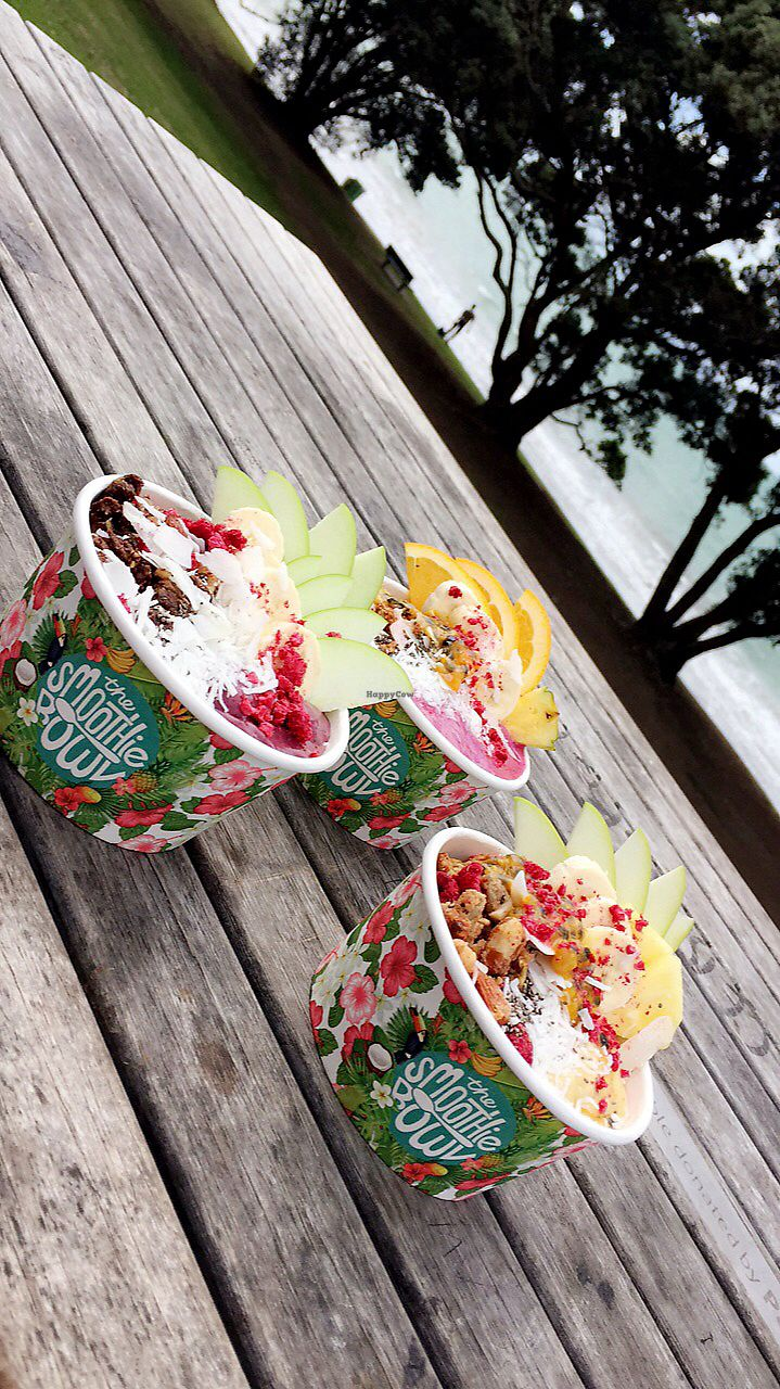 """Photo of The Smoothie Bowl  by <a href=""""/members/profile/AnnaEmi"""">AnnaEmi</a> <br/>3 different smoothie bowls  <br/> April 2, 2018  - <a href='/contact/abuse/image/107672/379725'>Report</a>"""