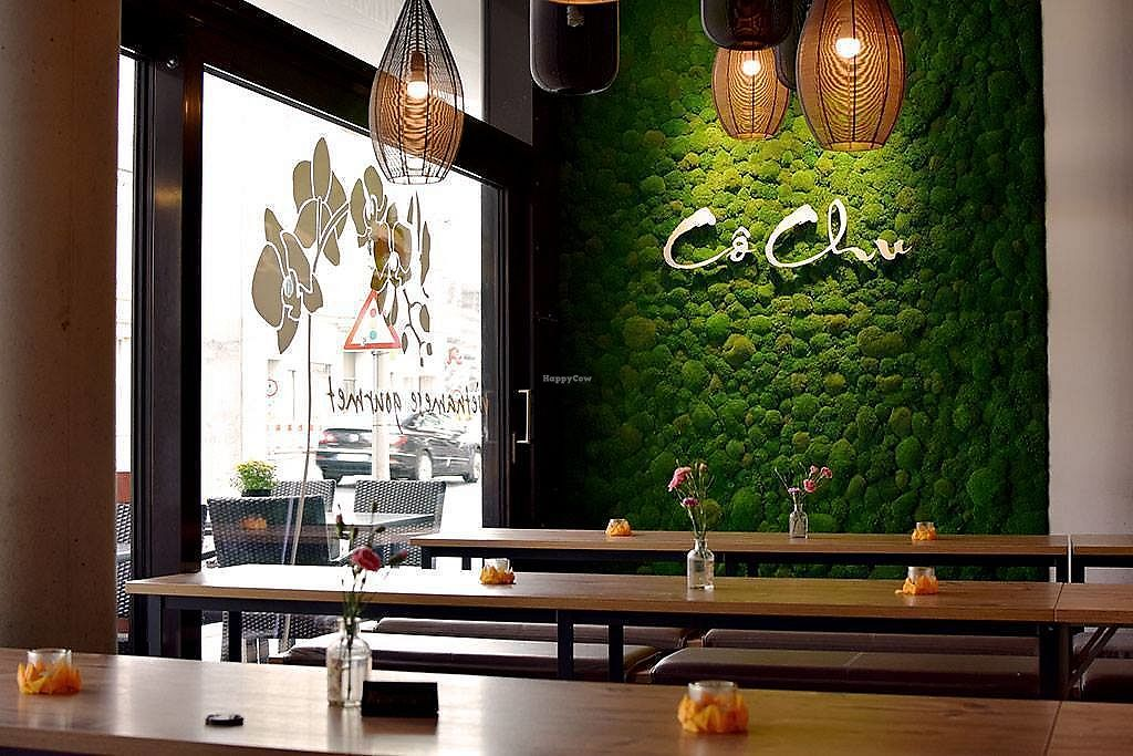 """Photo of Co Chu  by <a href=""""/members/profile/VeganTravelStory"""">VeganTravelStory</a> <br/>The tables in part of the restaurant <br/> December 22, 2017  - <a href='/contact/abuse/image/107701/337992'>Report</a>"""