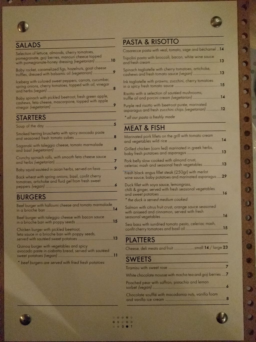 "Photo of Dot Restaurant  by <a href=""/members/profile/MartyW"">MartyW</a> <br/>Menu as of Dec 20, 2017 <br/> December 22, 2017  - <a href='/contact/abuse/image/107702/337991'>Report</a>"