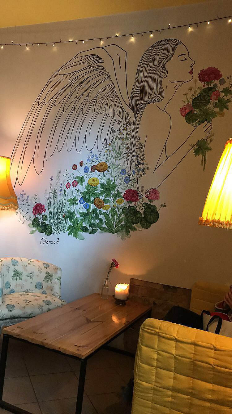 """Photo of Geranium Caffe  by <a href=""""/members/profile/ailwio"""">ailwio</a> <br/>Interior design  <br/> February 5, 2018  - <a href='/contact/abuse/image/107709/355300'>Report</a>"""