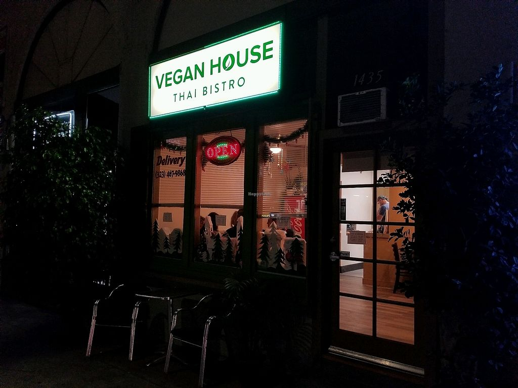 """Photo of Vegan House  by <a href=""""/members/profile/VegGuyLA"""">VegGuyLA</a> <br/>outside <br/> December 31, 2017  - <a href='/contact/abuse/image/107742/341185'>Report</a>"""