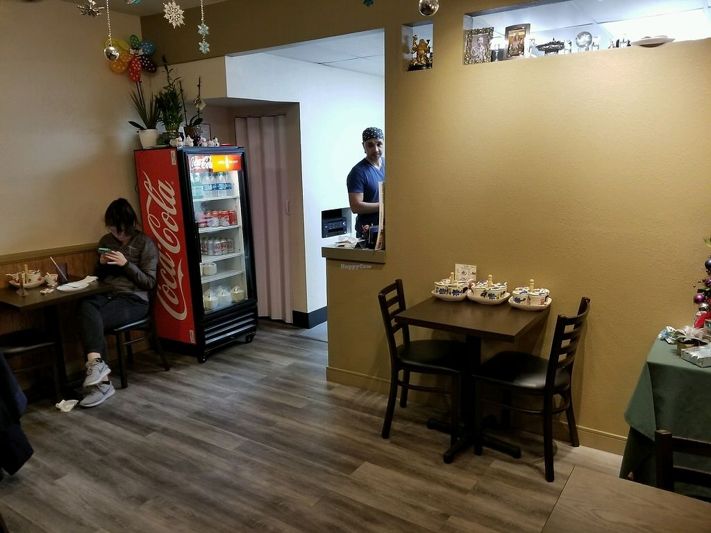 """Photo of Vegan House  by <a href=""""/members/profile/VegGuyLA"""">VegGuyLA</a> <br/>Inside <br/> December 31, 2017  - <a href='/contact/abuse/image/107742/341186'>Report</a>"""